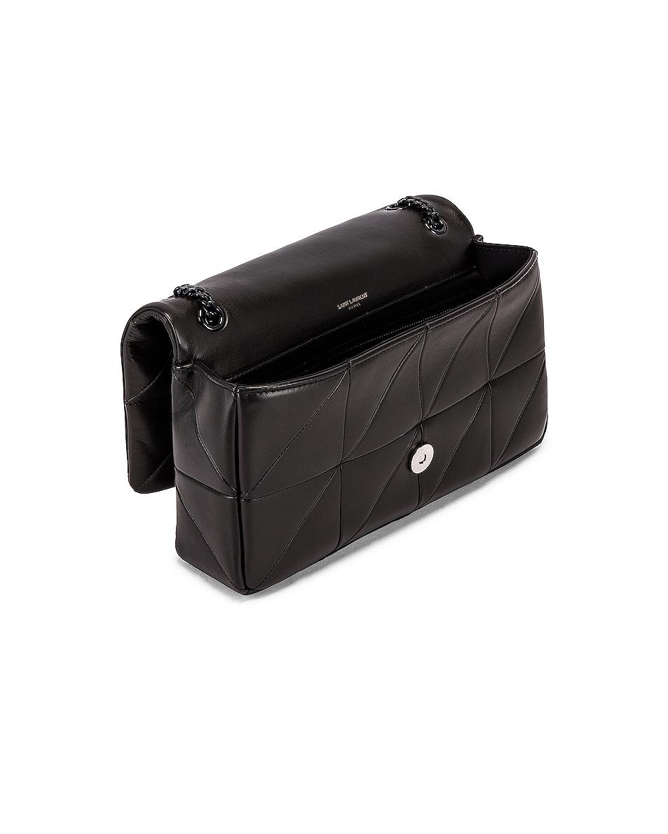 Image 5 of Saint Laurent Medium Jamie Monogramme Chain Bag in Black
