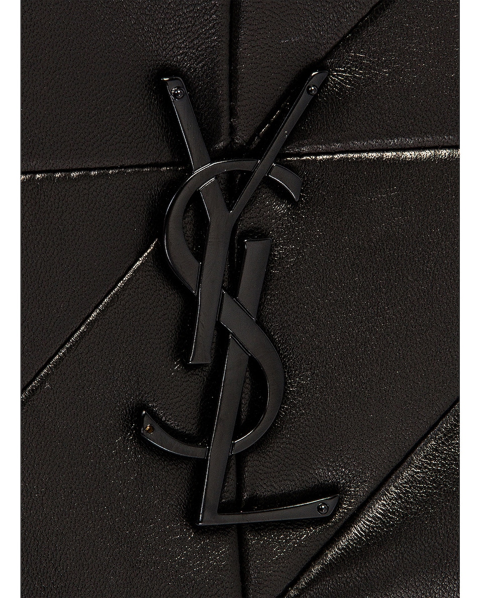Image 8 of Saint Laurent Medium Jamie Monogramme Chain Bag in Black