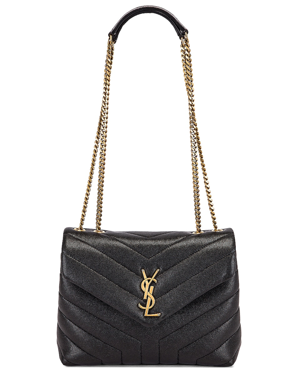 Image 6 of Saint Laurent Small LouLou Monogramme Bag in Black