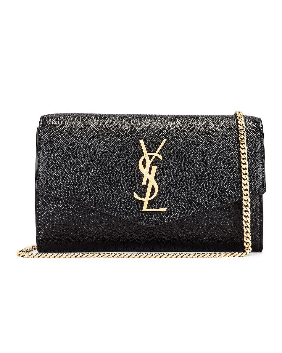 Image 1 of Saint Laurent Flap Chain Bag in Black