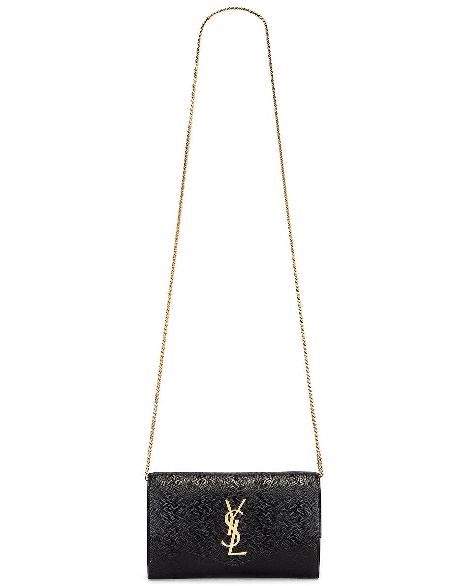 Image 6 of Saint Laurent Flap Chain Bag in Black