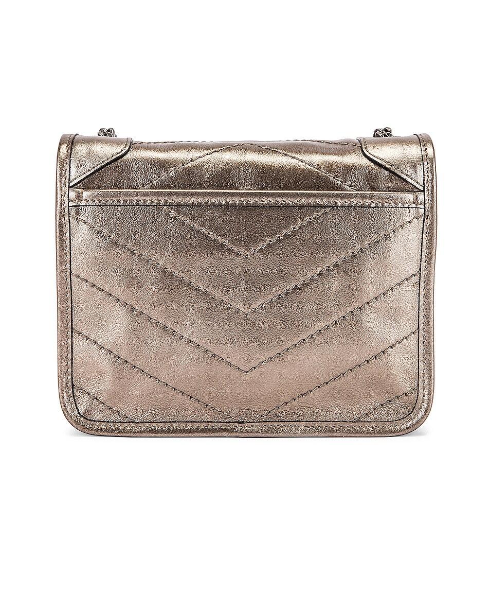 Image 3 of Saint Laurent Chain Wallet Bag in Piombo