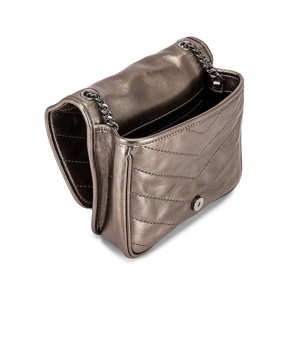 Image 5 of Saint Laurent Chain Wallet Bag in Piombo