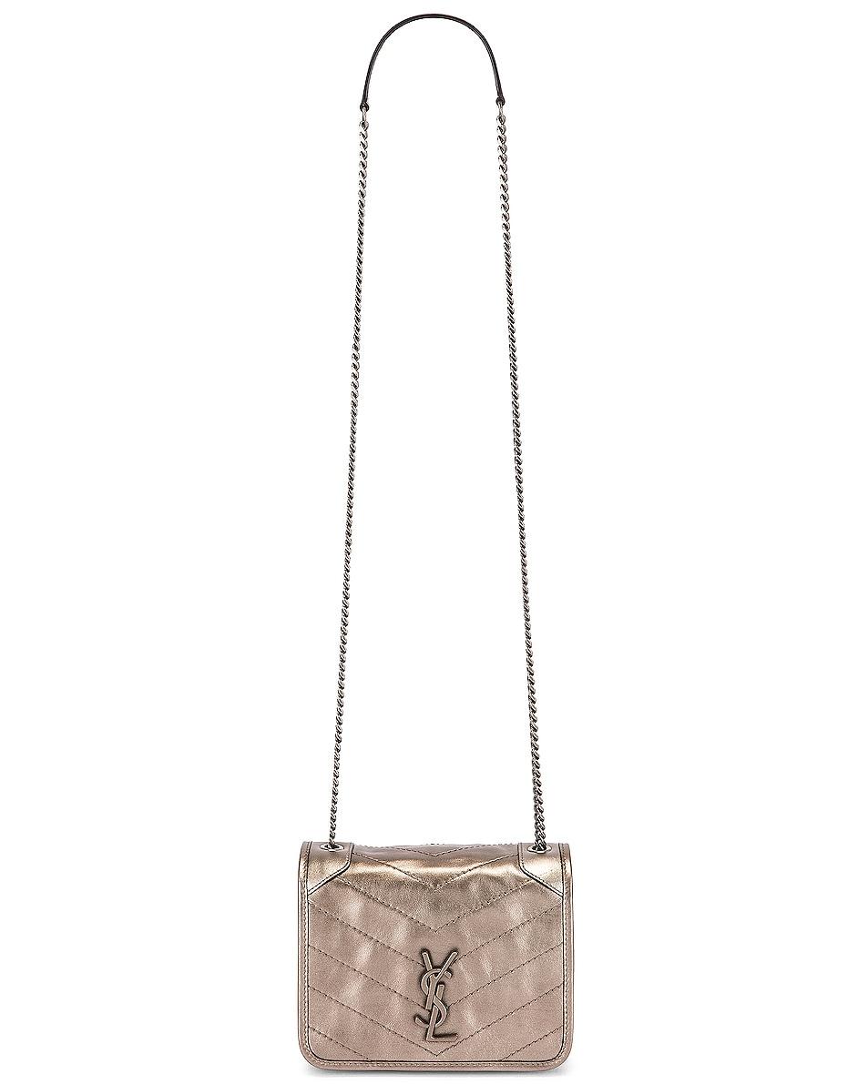 Image 6 of Saint Laurent Chain Wallet Bag in Piombo