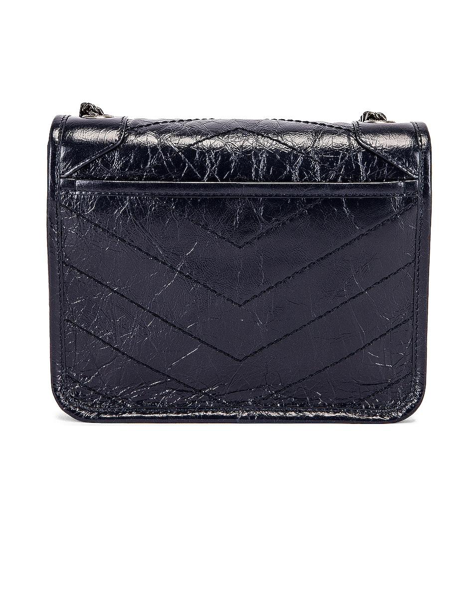 Image 3 of Saint Laurent Niki Chain Wallet Bag in Deep Marine