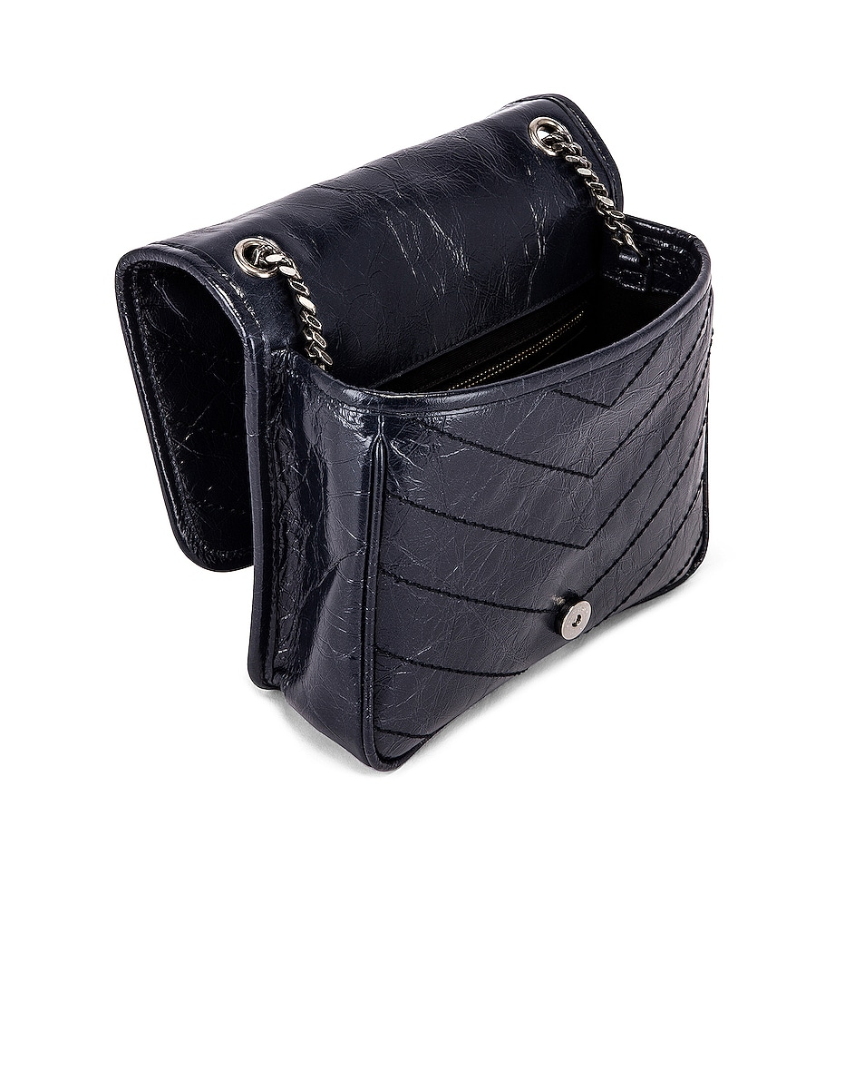 Image 5 of Saint Laurent Niki Chain Wallet Bag in Deep Marine