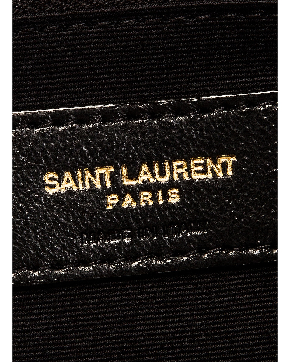 Image 7 of Saint Laurent Small LouLou Monogramme Bag in Crema Soft