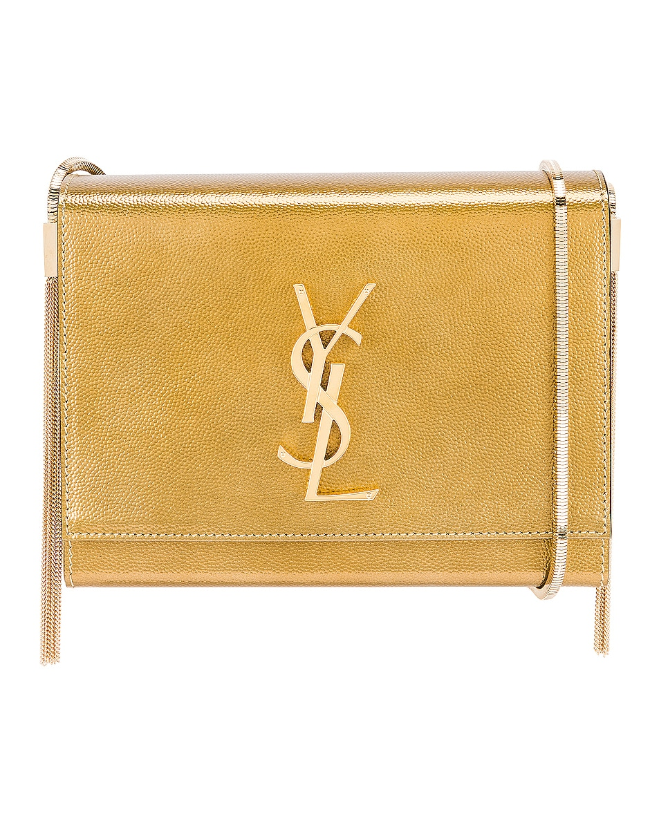 Image 1 of Saint Laurent Kate Boxy Bag in Brome