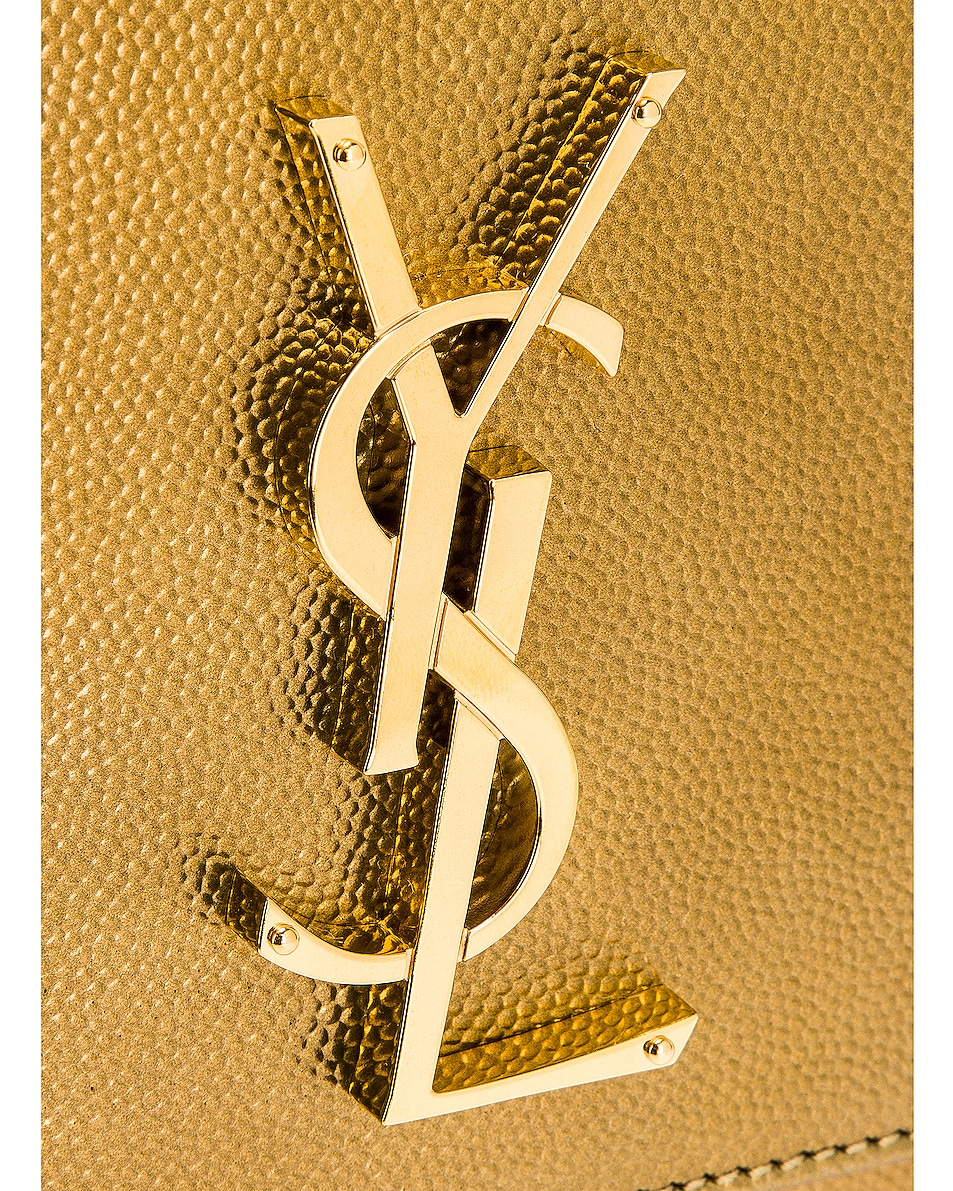Image 8 of Saint Laurent Kate Boxy Bag in Brome