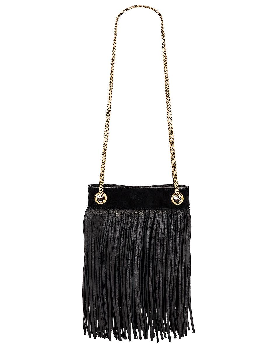 Image 1 of Saint Laurent Grace Bag in Black