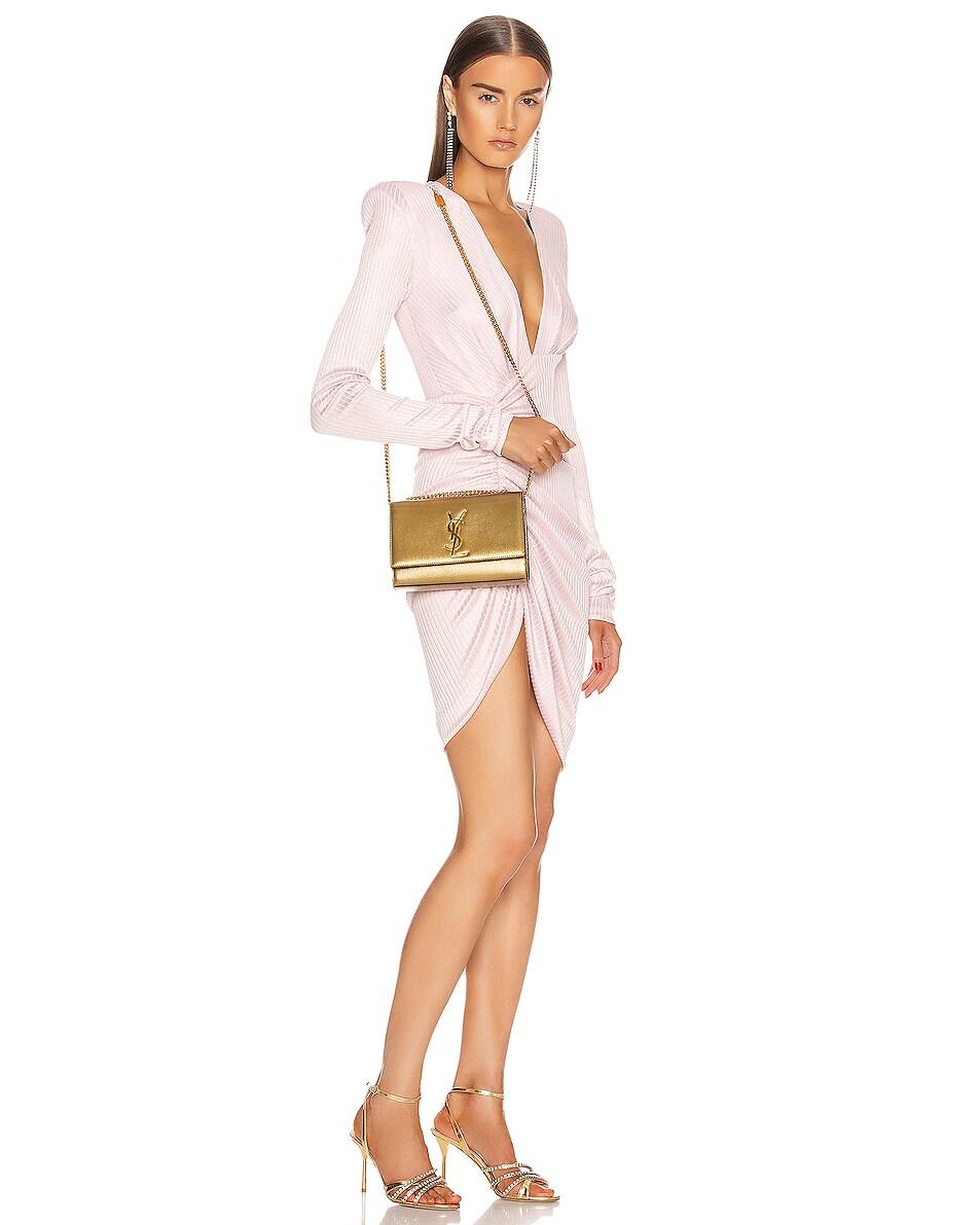 Image 2 of Saint Laurent Small Kate Bag in Brome