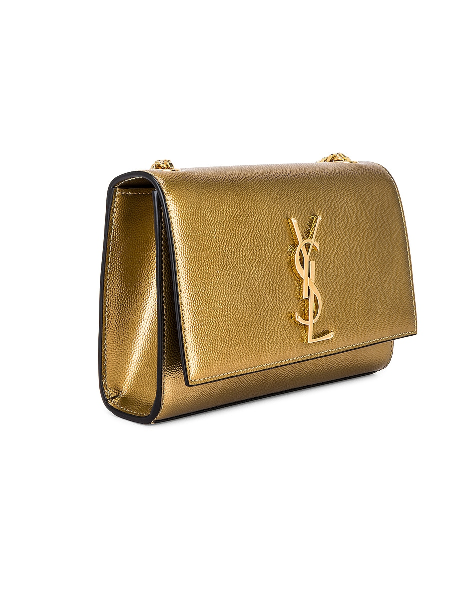 Image 4 of Saint Laurent Small Kate Bag in Brome
