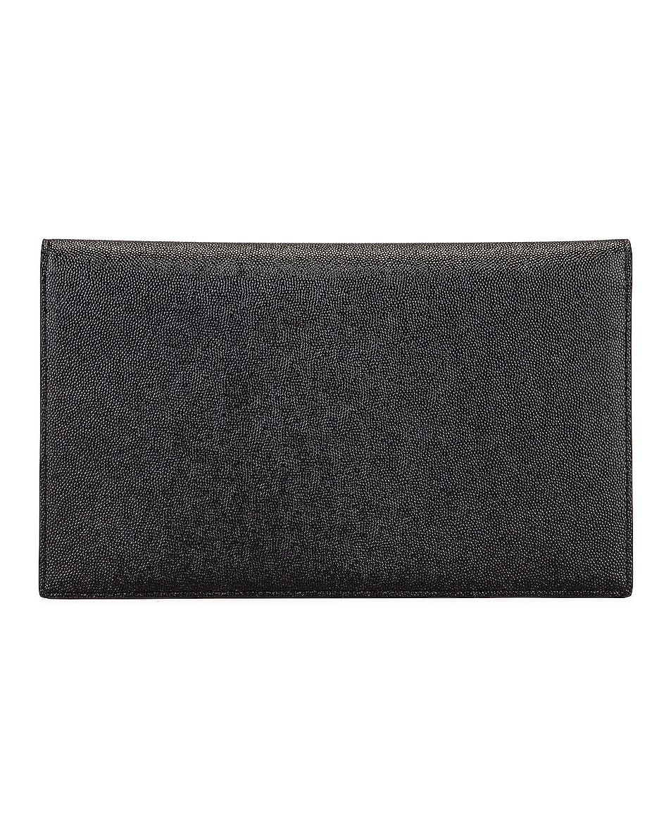Image 3 of Saint Laurent Medium Clutch in Black