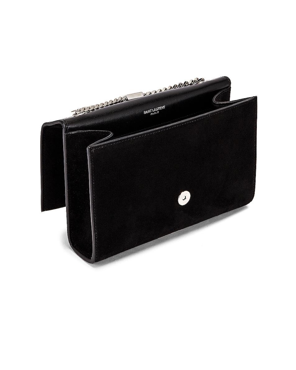 Image 5 of Saint Laurent Small Kate Monogramme Bag in Black