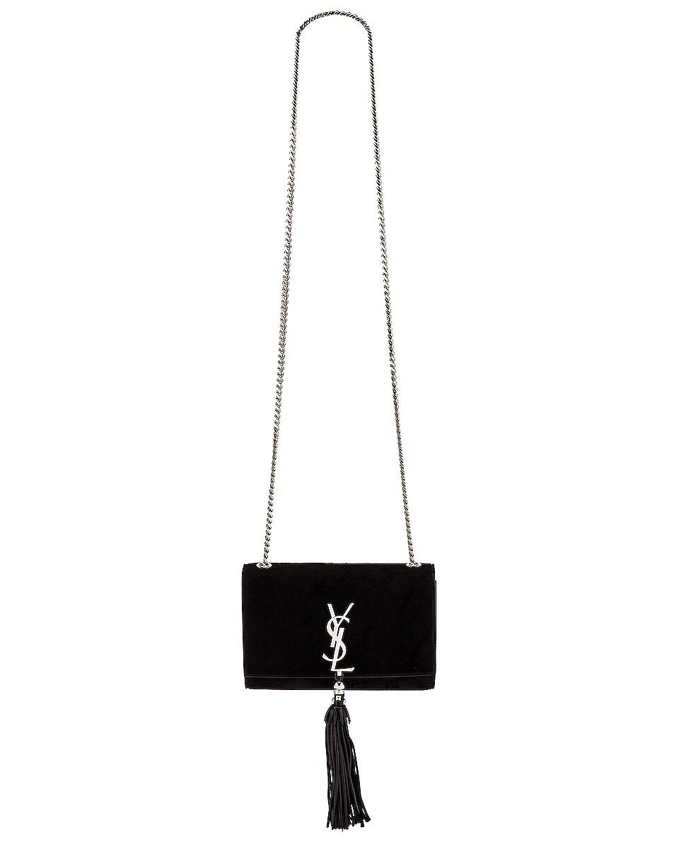 Image 6 of Saint Laurent Small Kate Monogramme Bag in Black