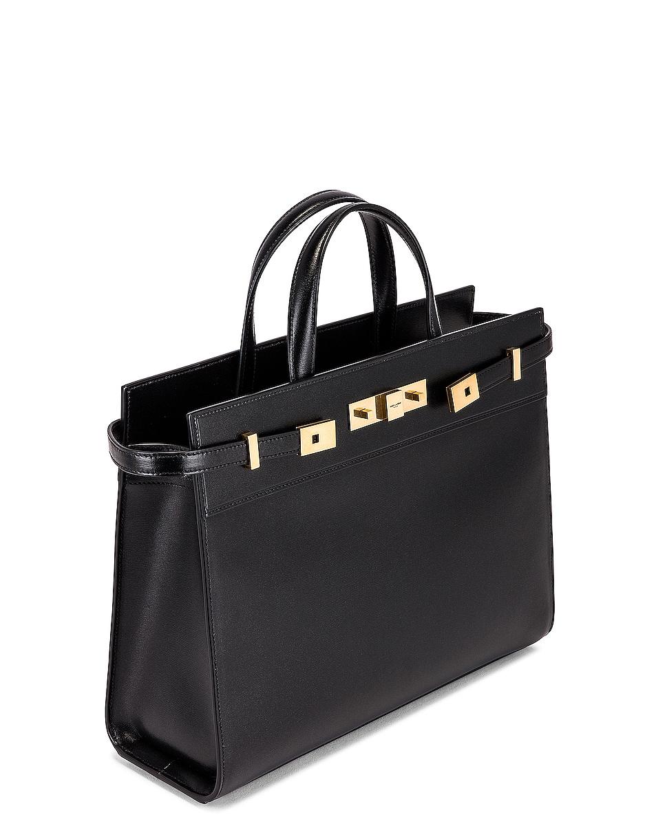 Image 5 of Saint Laurent Manhattan Bag in Nero
