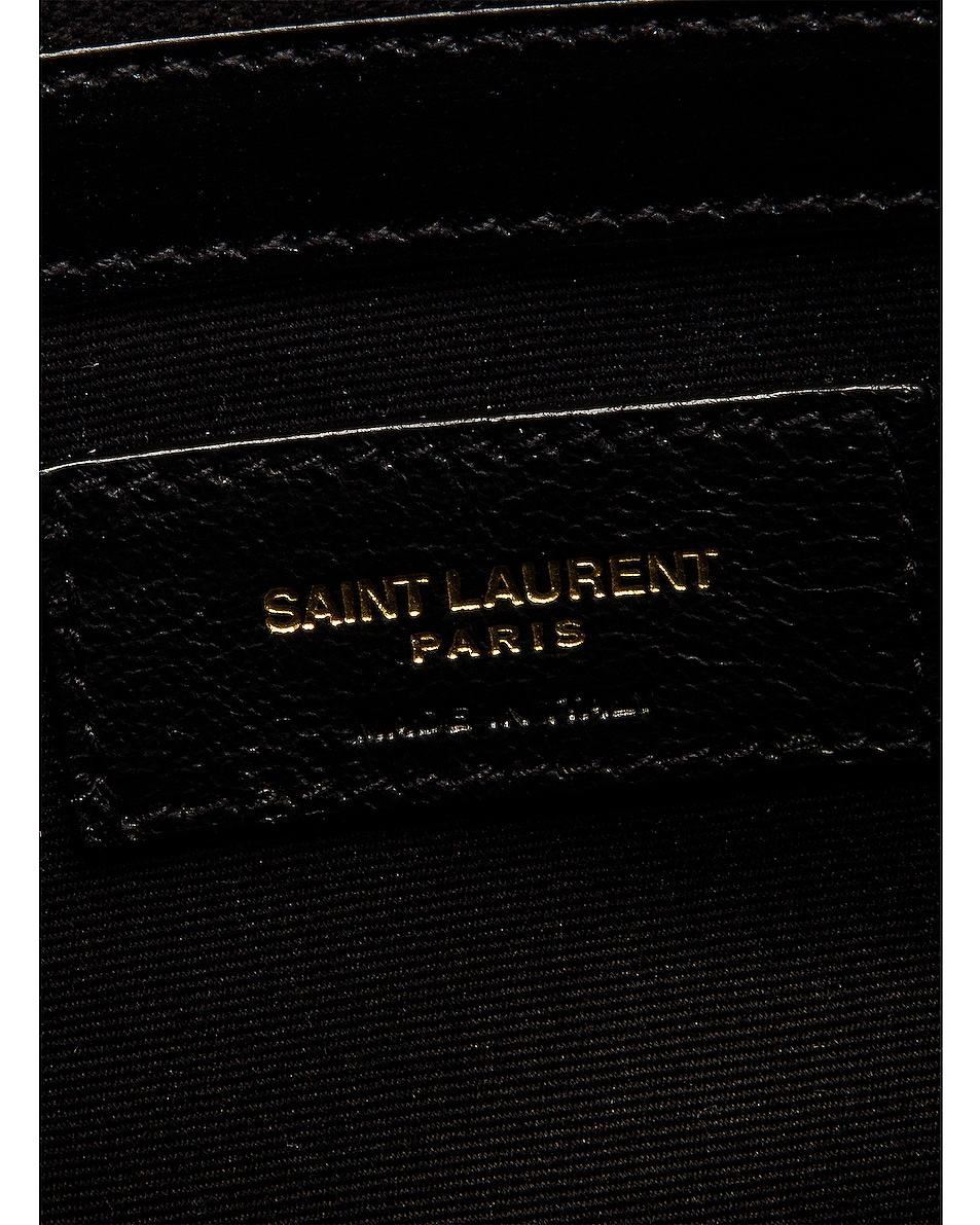 Image 7 of Saint Laurent Small Manhattan Shopping Bag in Nero