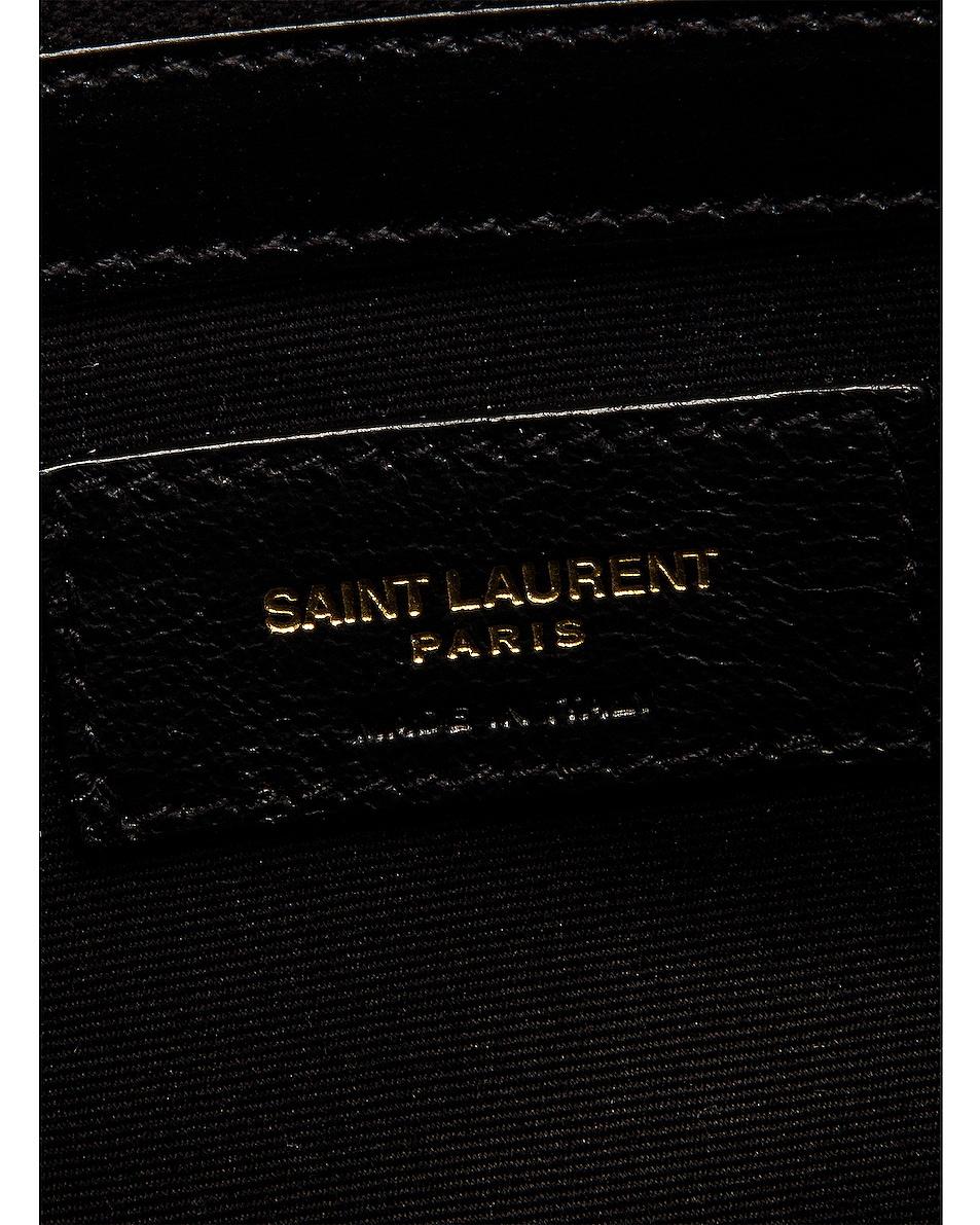 Image 7 of Saint Laurent Manhattan Bag in Nero