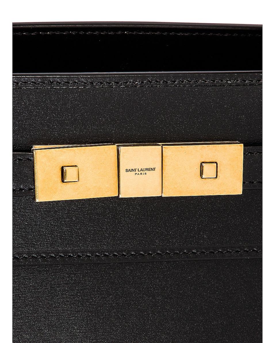 Image 8 of Saint Laurent Manhattan Bag in Nero