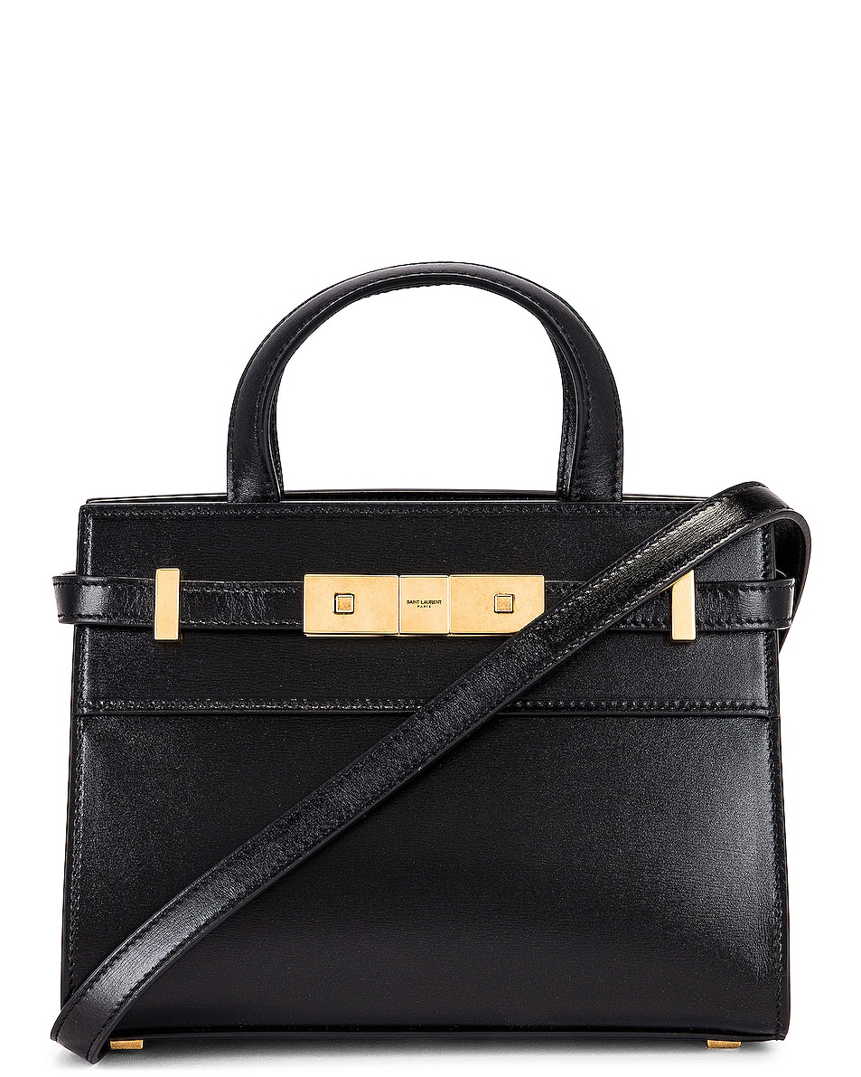 Image 1 of Saint Laurent Manhattan Bag in Nero