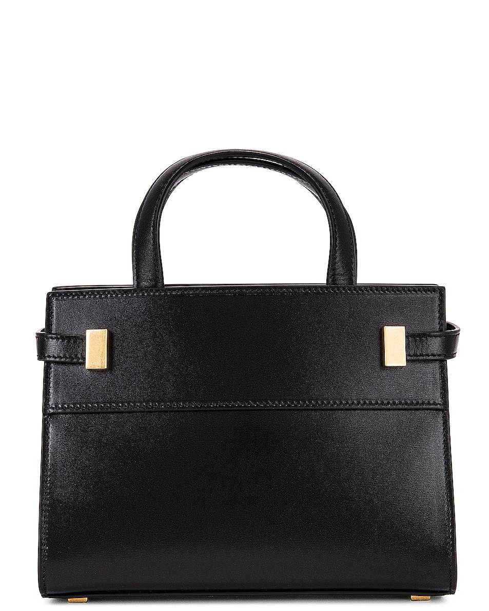 Image 3 of Saint Laurent Manhattan Bag in Nero