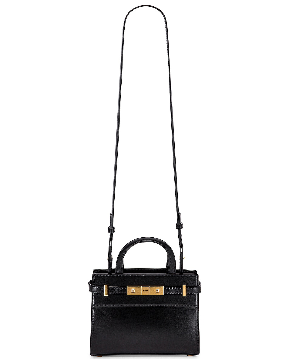 Image 6 of Saint Laurent Manhattan Bag in Nero