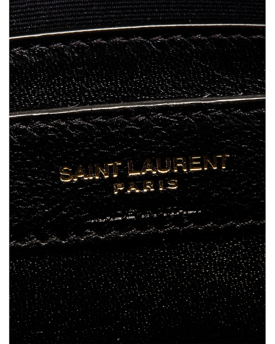 Image 7 of Saint Laurent Manhattan Bag in Nero