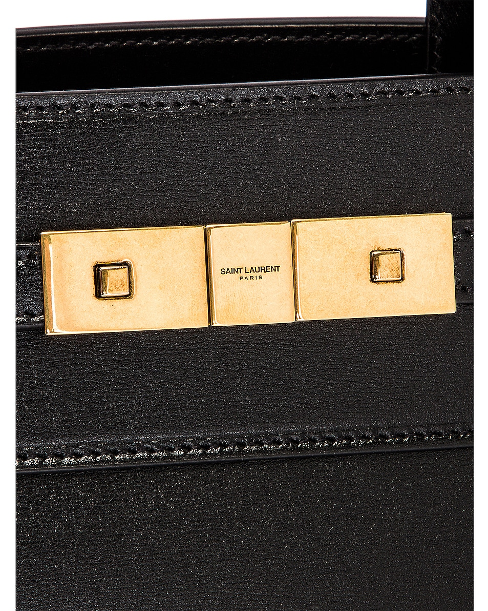 Image 8 of Saint Laurent Manhattan Bag in Nero