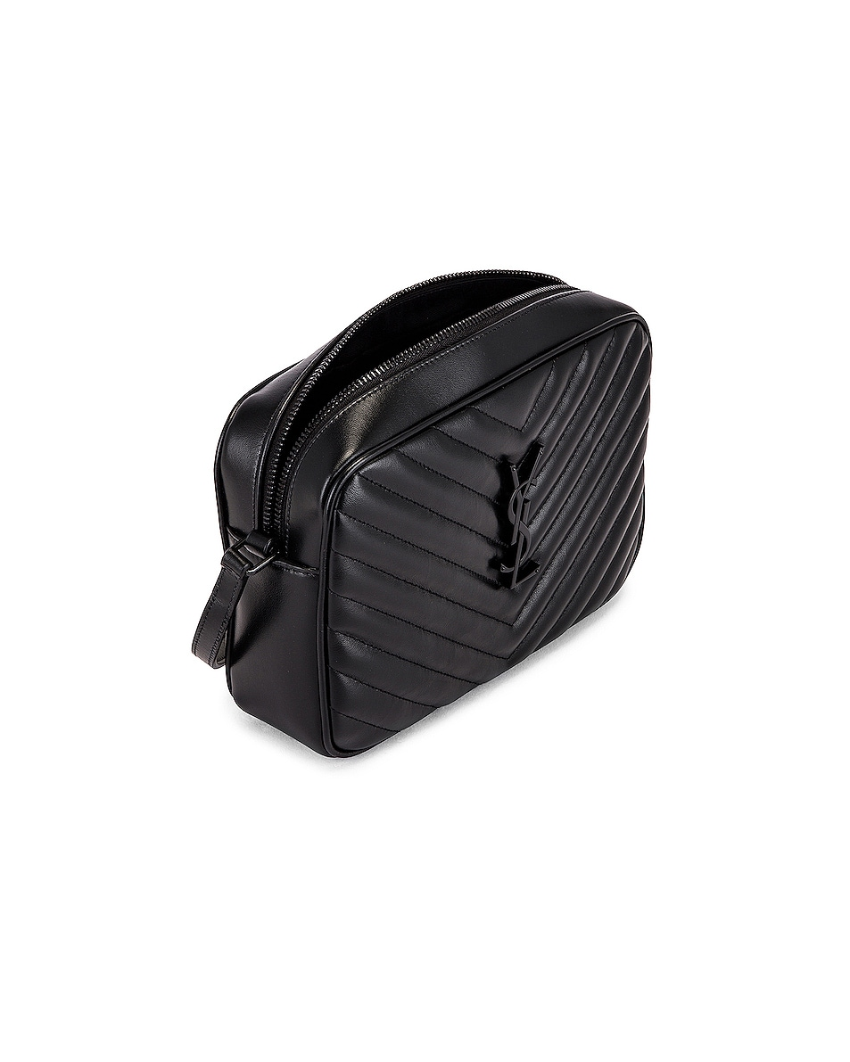 Image 5 of Saint Laurent Bag Monogram Lou M Wi in Nero