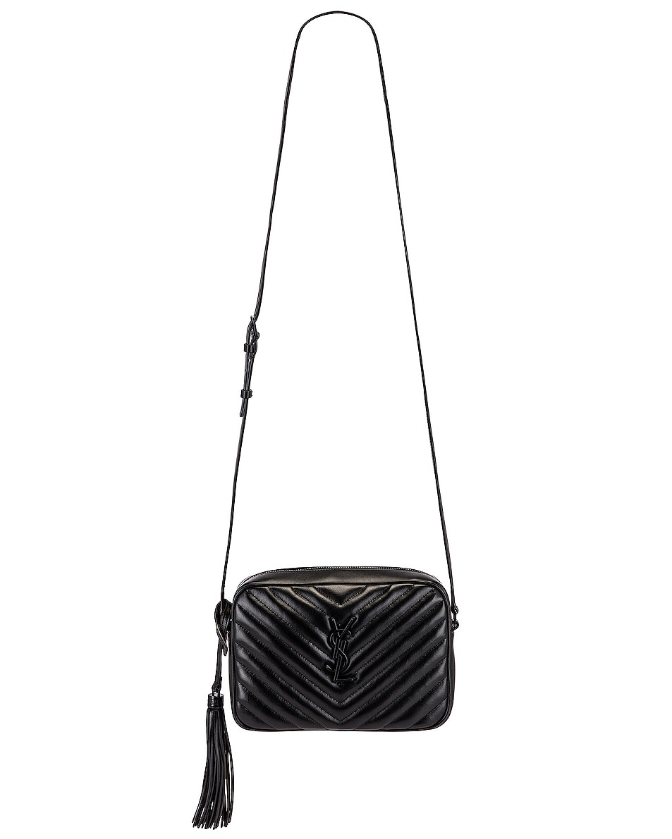 Image 6 of Saint Laurent Bag Monogram Lou M Wi in Nero