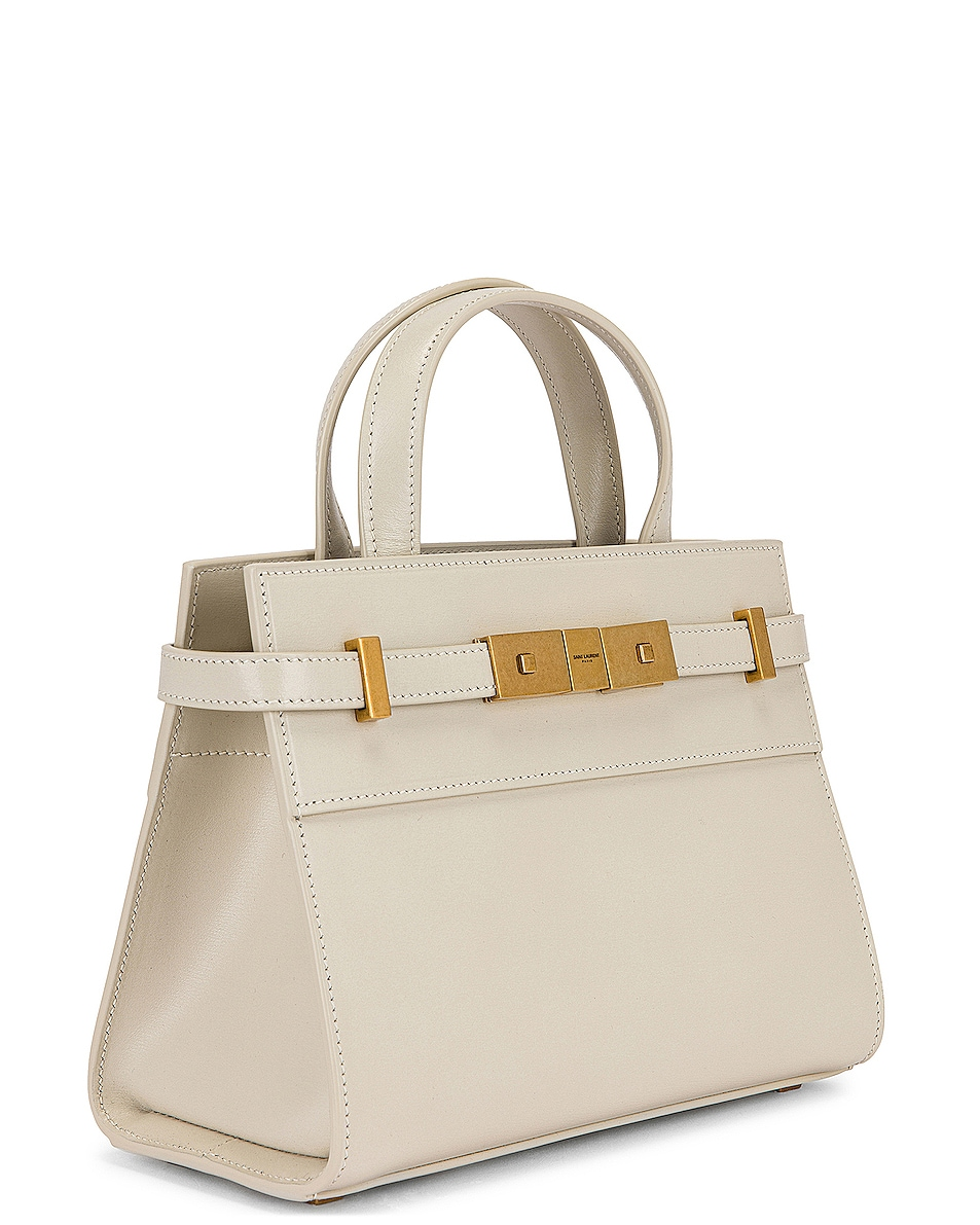Image 4 of Saint Laurent Bag Manhattan in Crema Soft