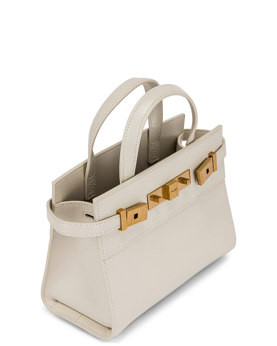 Image 5 of Saint Laurent Bag Manhattan in Crema Soft
