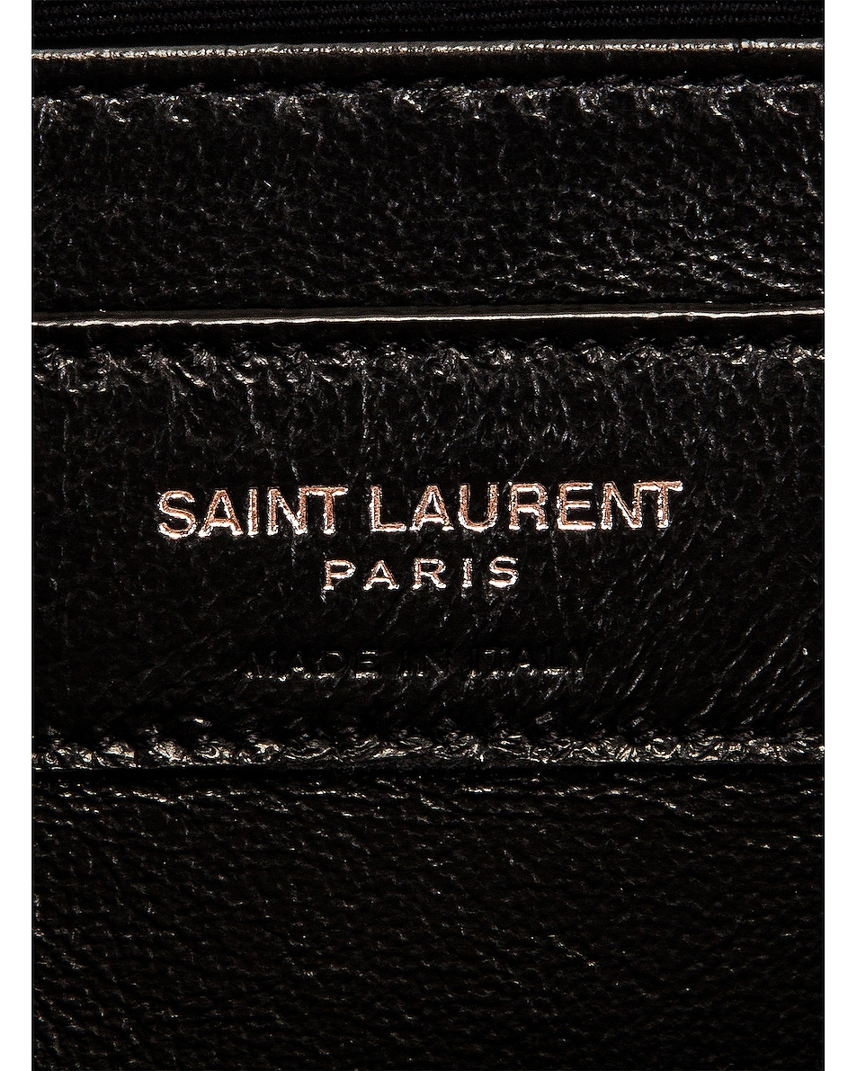 Image 6 of Saint Laurent Small Loulou Shoulder Bag in Gold Sand & Gold Sand