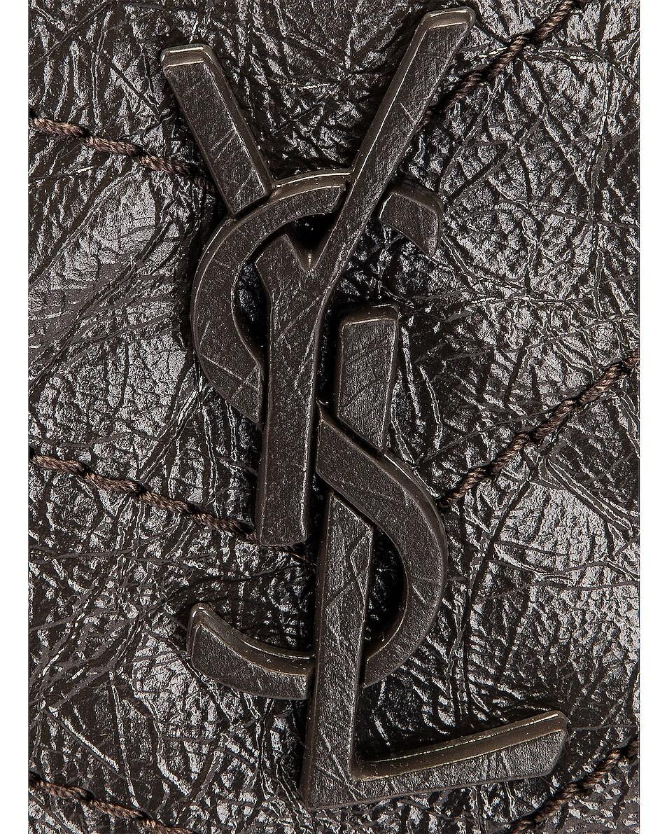 Image 8 of Saint Laurent Niki Chain Wallet Bag in Pebble