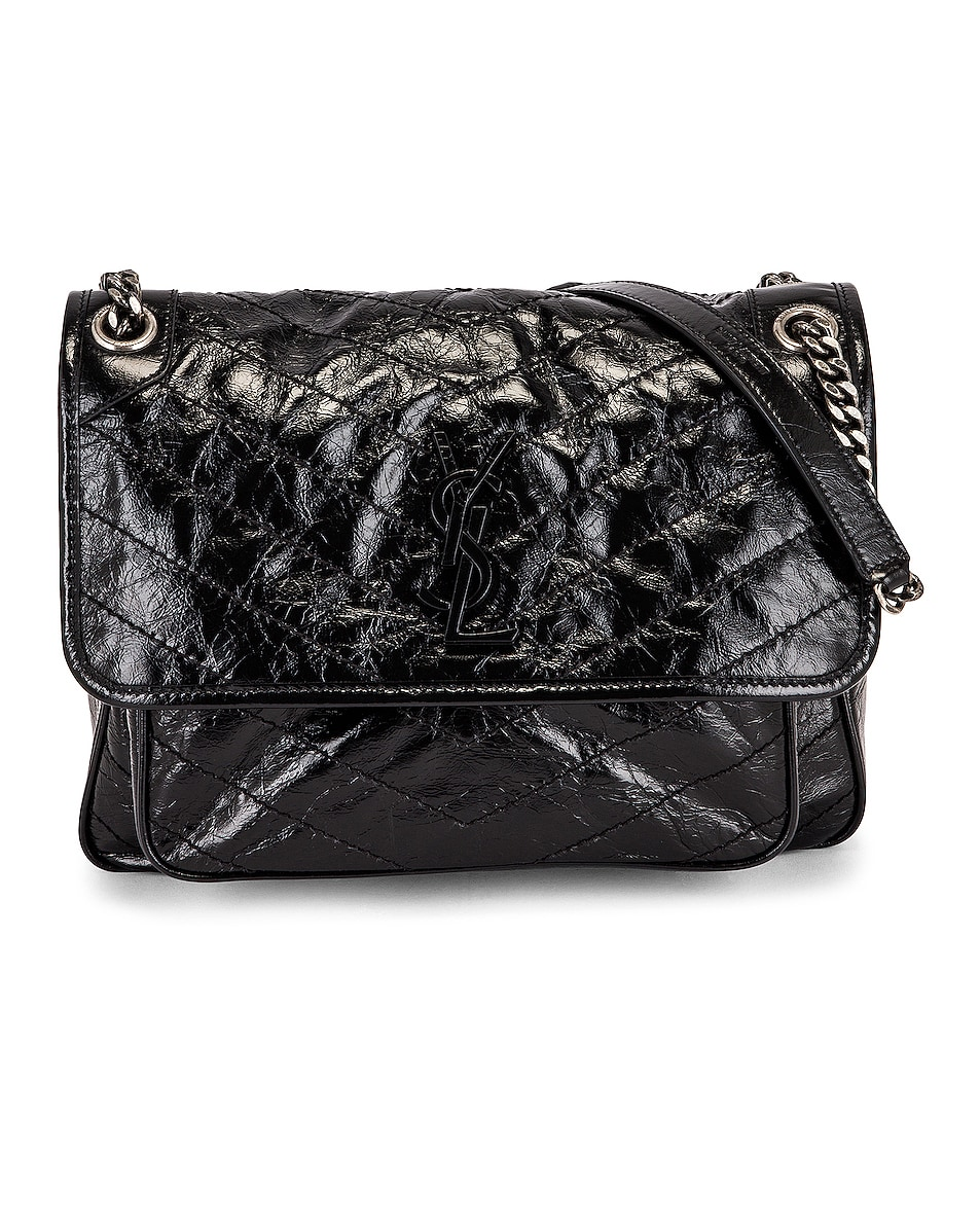 Image 1 of Saint Laurent Medium Niki Chain Bag in Nero