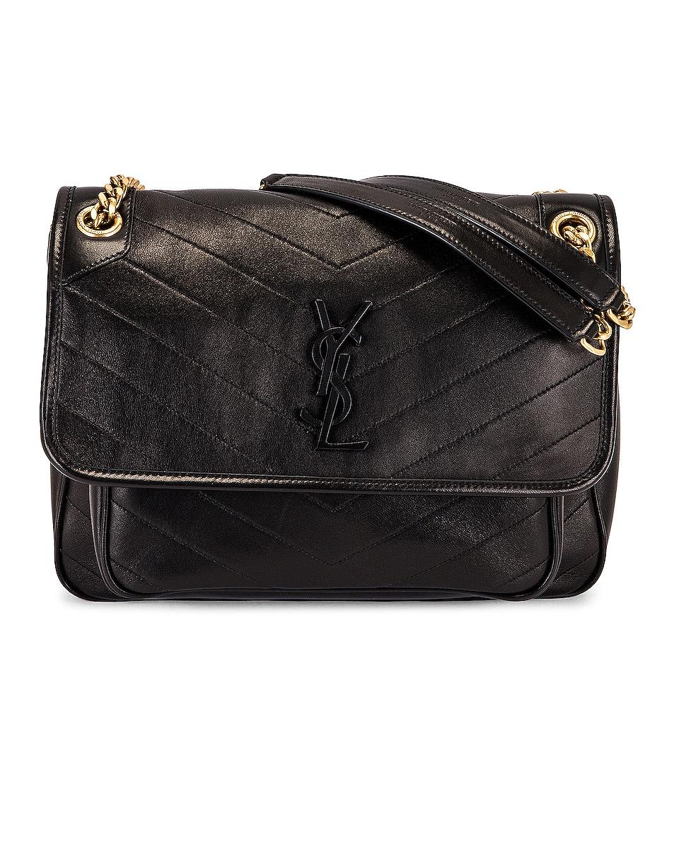 Image 1 of Saint Laurent Medium Niki Chain Bag in Nero