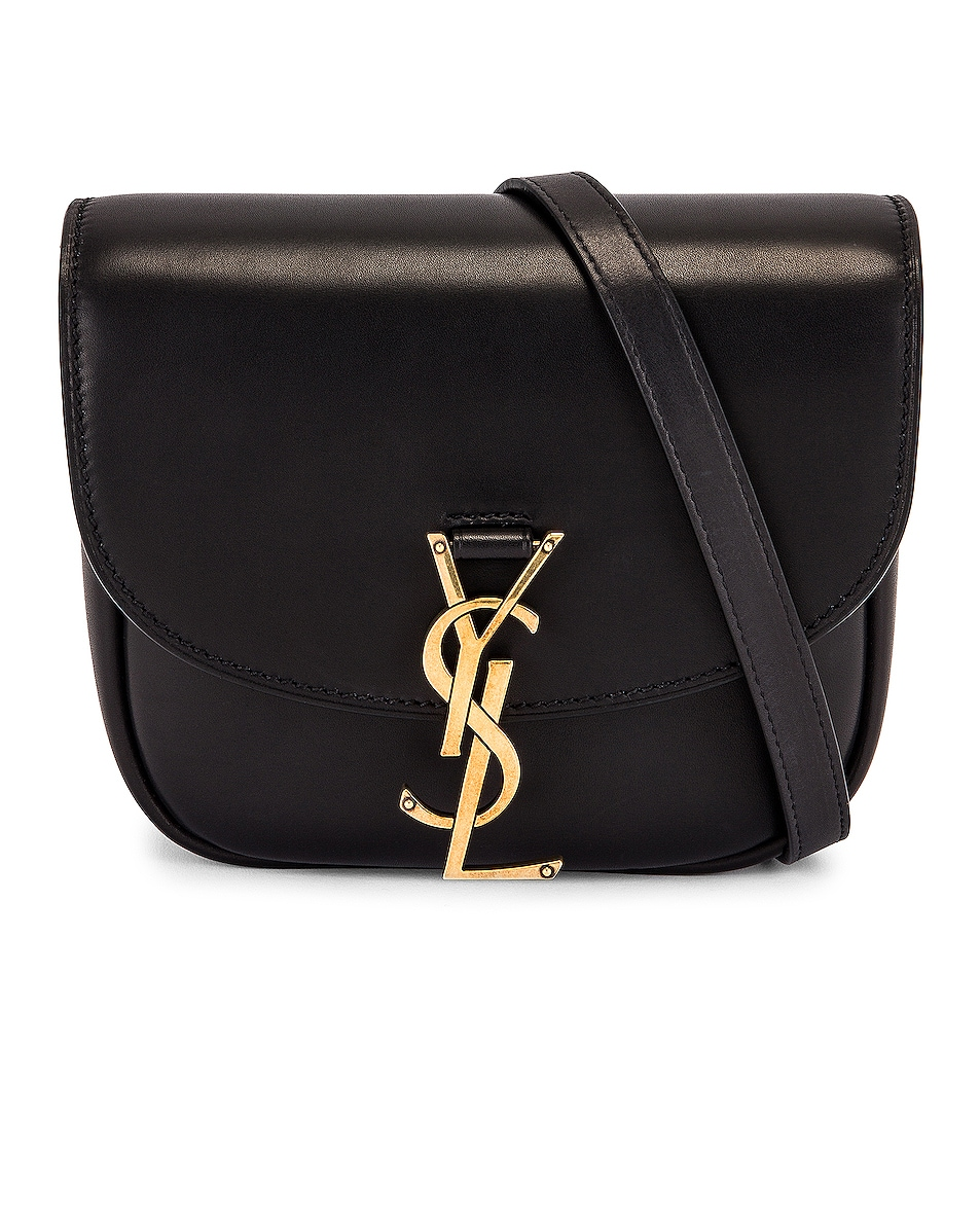 Image 1 of Saint Laurent Small Satchel Kaia in Noir