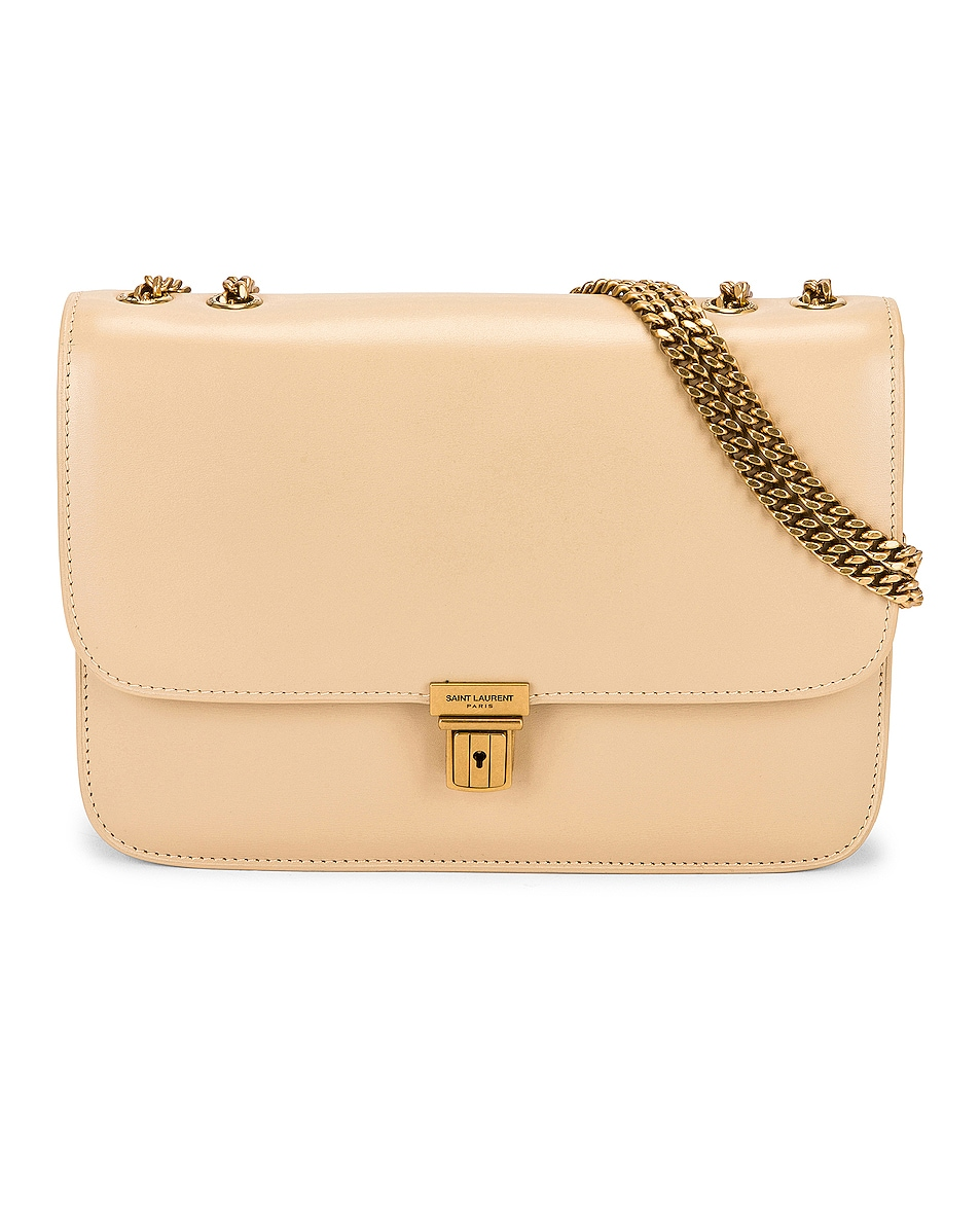 Image 1 of Saint Laurent Chain Bag Tuc in Ivoire Naturel