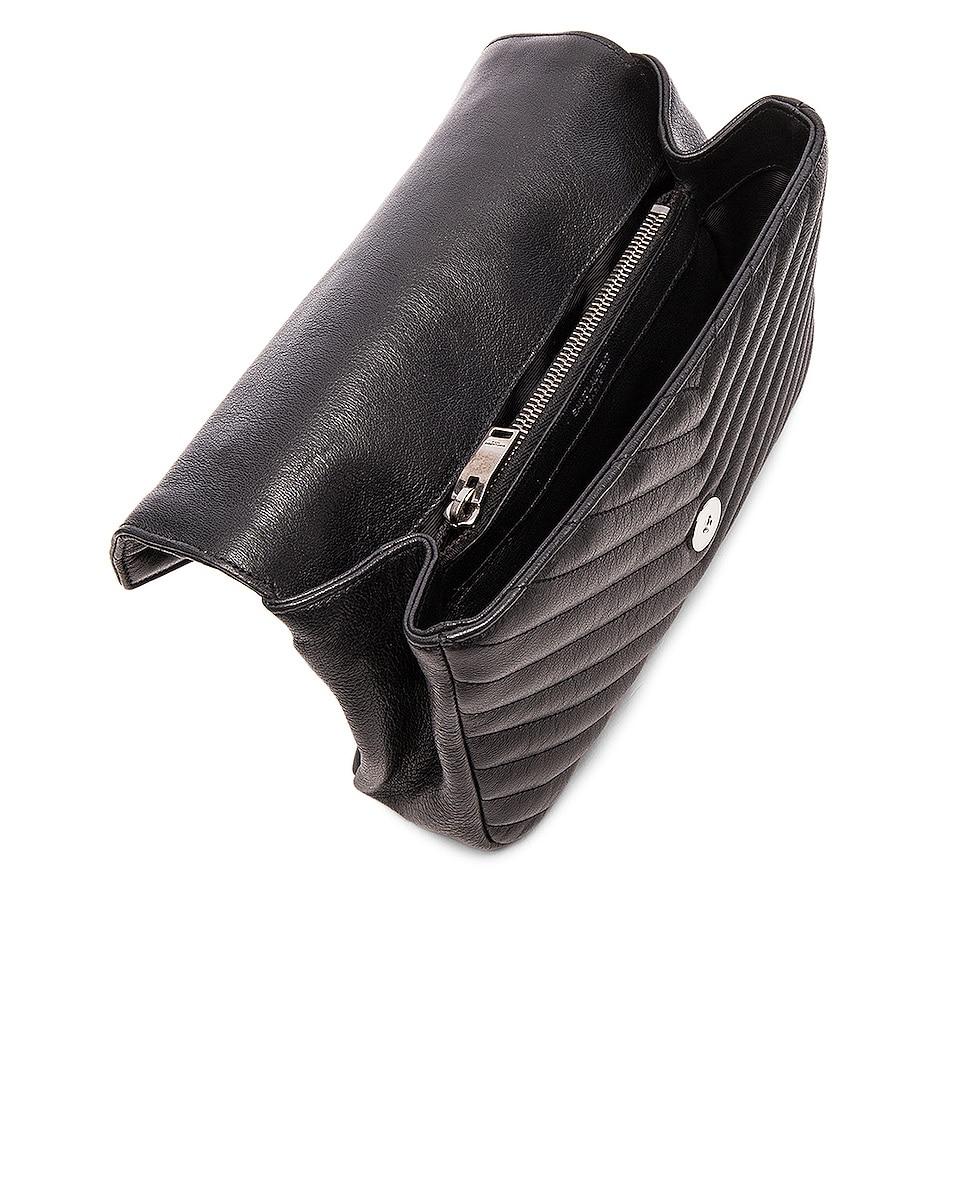 Image 5 of Saint Laurent Medium Monogramme College Bag in Black