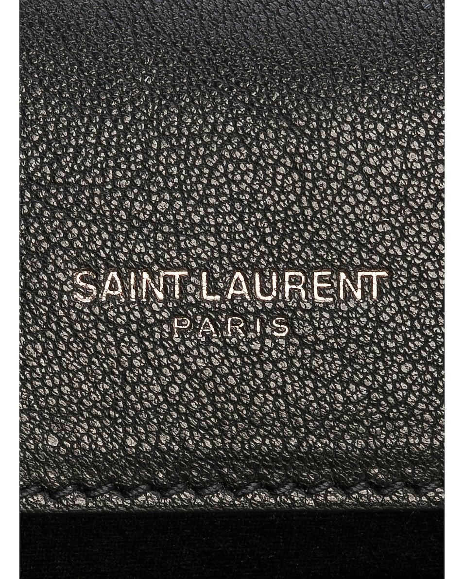 Image 7 of Saint Laurent Medium Monogramme College Bag in Black