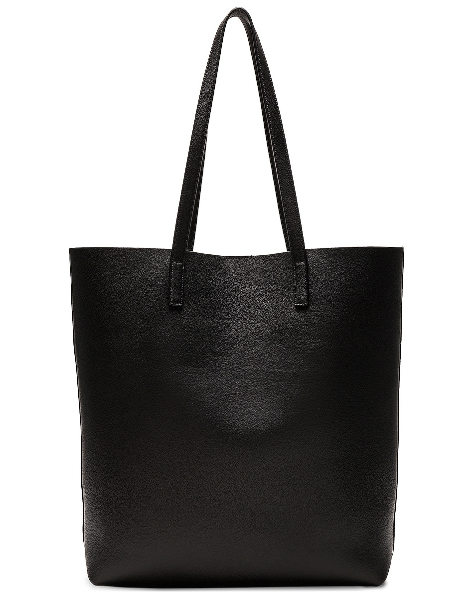 Image 3 of Saint Laurent North South Shopping Bag in Black