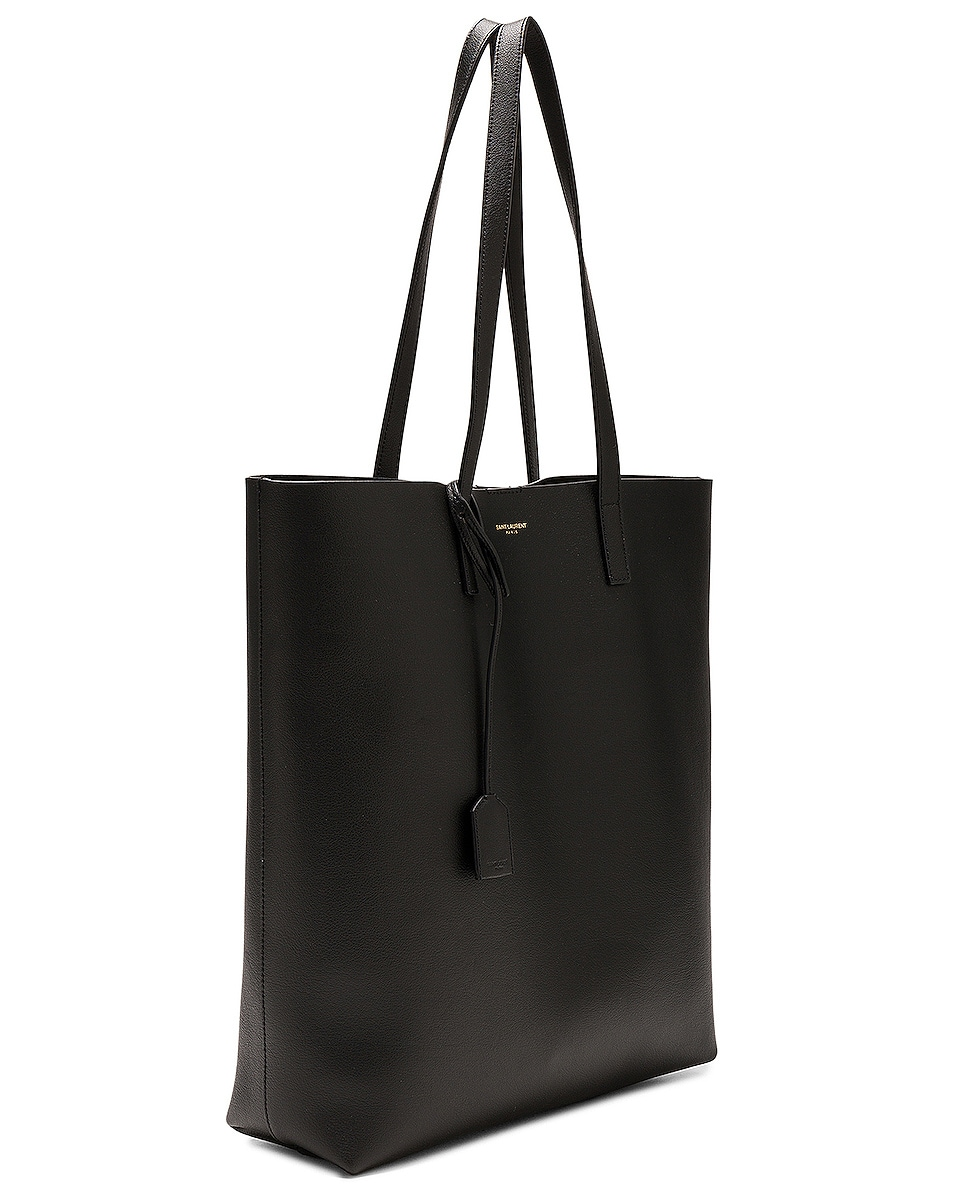 Image 4 of Saint Laurent North South Shopping Bag in Black