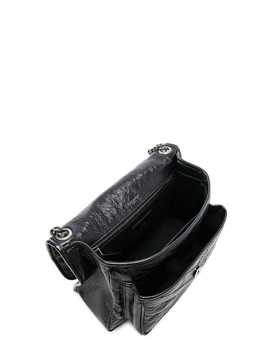 Image 5 of Saint Laurent Medium Niki Monogramme Chain Bag in Black