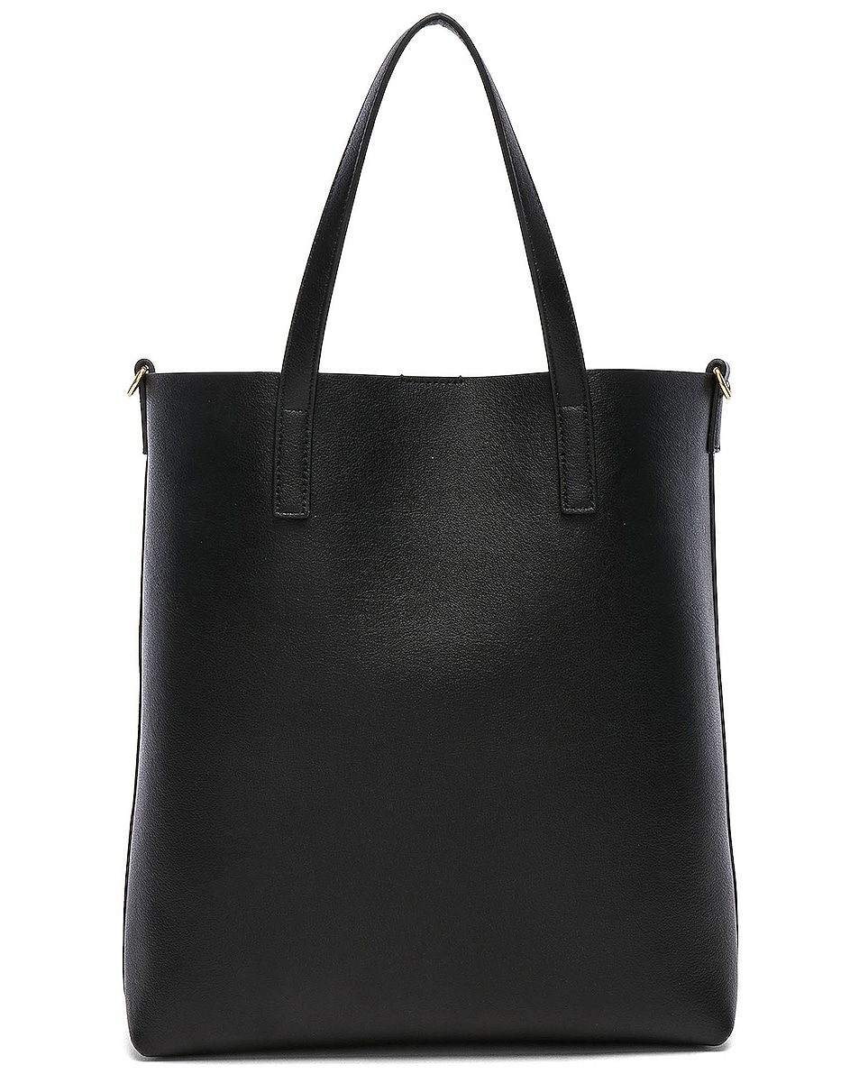 Image 3 of Saint Laurent Toy North South Tote Bag in Black
