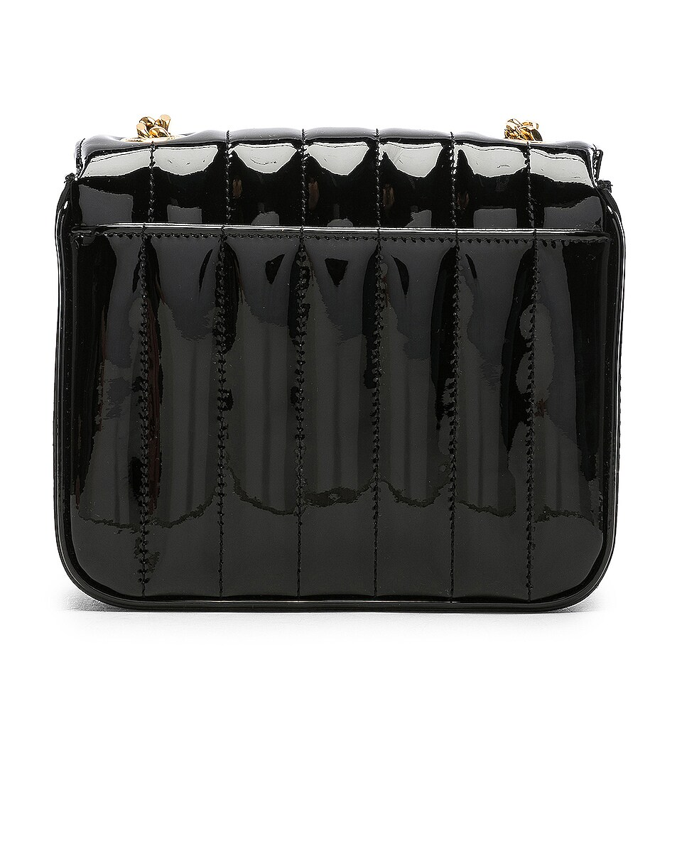 Image 3 of Saint Laurent Small Supple Monogramme Vicky Chain Bag in Black