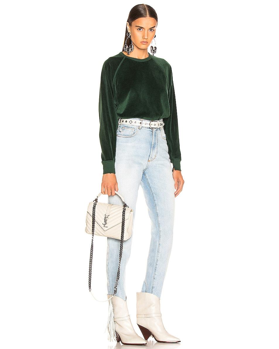 Image 2 of Saint Laurent Medium Monogramme College Bag in Crema Soft