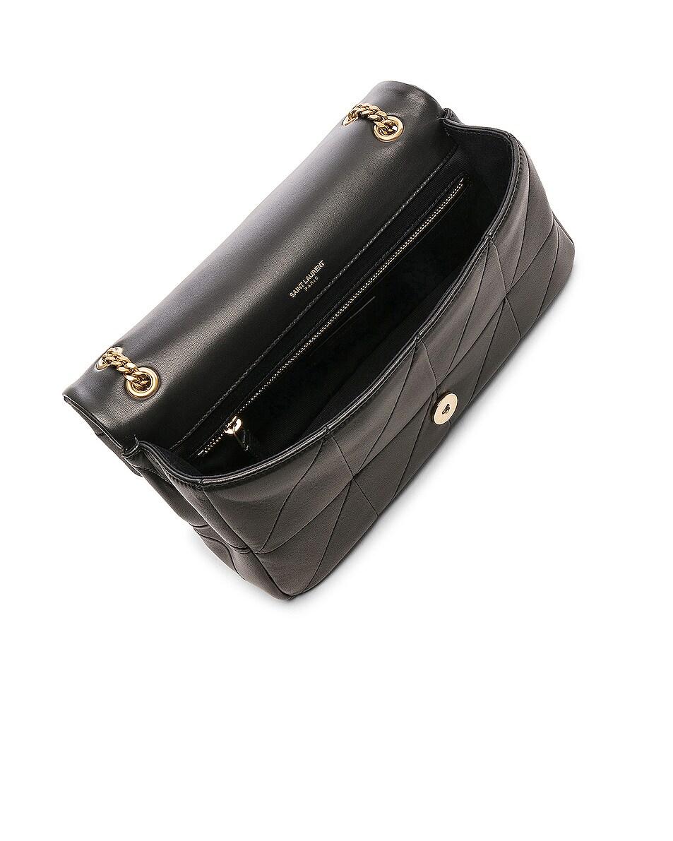 Image 5 of Saint Laurent Medium Monogramme Jamie Chain Bag in Black