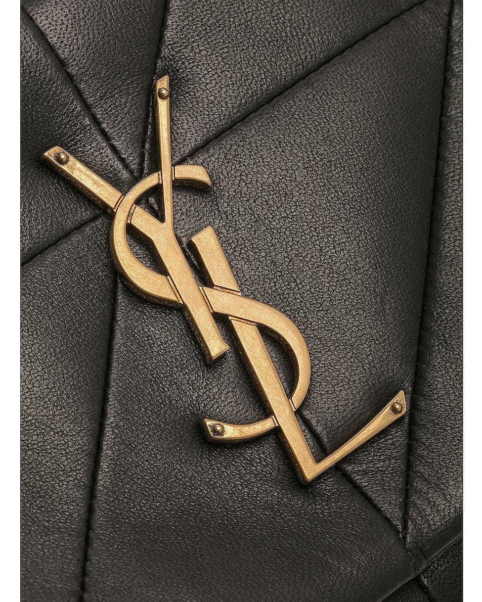 Image 8 of Saint Laurent Medium Monogramme Jamie Chain Bag in Black