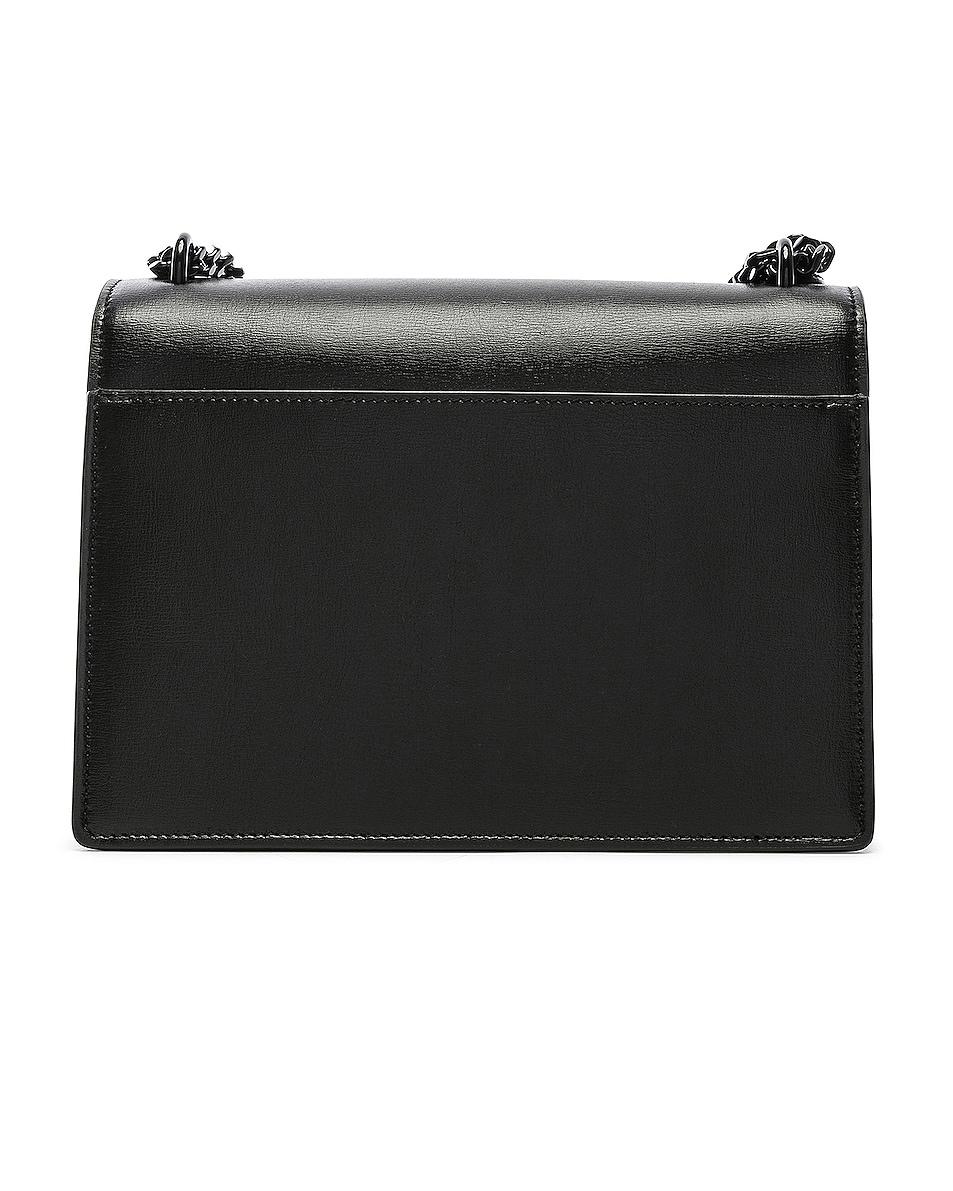 Image 3 of Saint Laurent Monogramme Sunset Shoulder Bag in Black