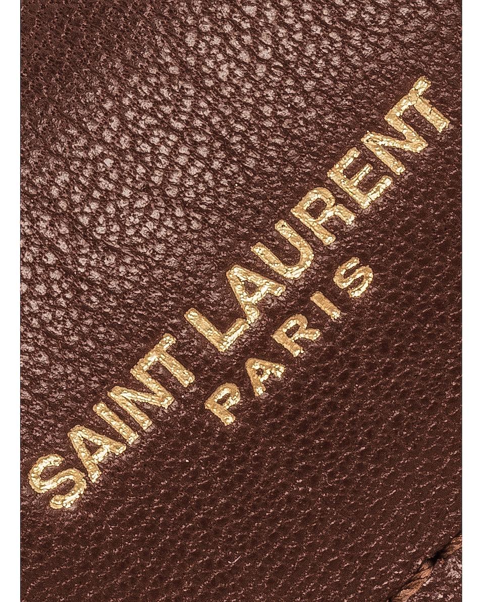 Image 8 of Saint Laurent Medium Monogramme College Bag in Old Brandy